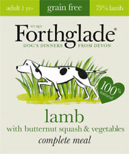 Forthglade Grain Free Lamb Butternut Squash & Veg Dog Wet Food Tray 395g x 18