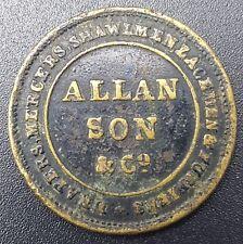 Londres, C années 1860 Allan FILS & Co code, drapers, drapiers, shawlmen, lacemen, etc