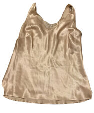 CABERNET  Camisole Small Taupe satin