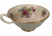 Lenox China Aurora Pattern L-347 Footed Cup Only Gold Mark Mint
