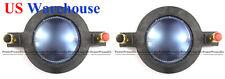 2PCS Replacement Diaphragm for Mackie SRM450 V2 P-Audio Driver DC10/1801-8 US