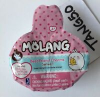 New Molang Best Friend Charms Series 1 Mystery Blind Pack 6 Pieces Inside