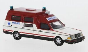 BoS 1:87 87715 Volvo 265 Retour au Travail Japon Ambulance (Nl)- Neuf