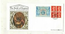 GB.1994  BENHAMS  FDCs.BANK OF ENGLAND LABELS WITH. SPECIAL HANDSTAMPS .