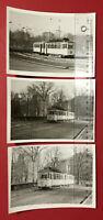 3 x alte Foto K.- M.- STADT Strassenbahn Linie 8 um 1978 ( 66208