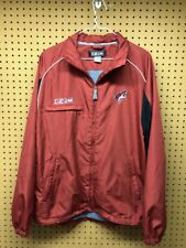 CCM Phoenix Coyotes NHL Hockey Adult Small Warm-up Track Red Breathable Jacket