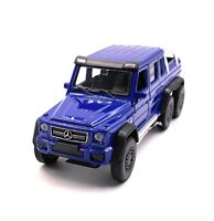 Mercedes Benz G63 6x6 AMG Blue Model Car Car Scale 1:3 4 (Licensed)