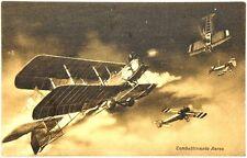 Cartolina Aviazione - Combattimento Aereo Caproni 300 HP Non Viaggiata