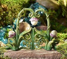 Miniature Fairy Garden Vine and Flower Gate  Glow-in the-Dark  GI 700368