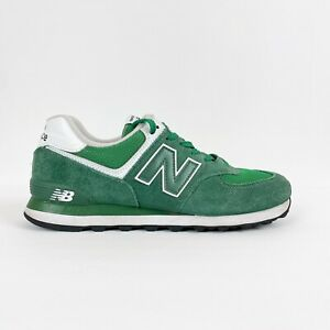 New Balance Men 10.5 Classic 574 Running Shoes Athletic Sneakers Green Suede