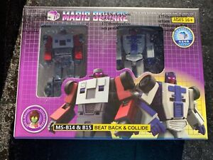 NEW Transformabl Magic Square MS-B14 B15 Beat Back Collide Organized Decepticons