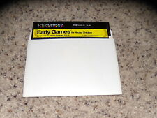 Early Games Apple for Young Children 5.25' Floppy disk Apple II+ IIe, IIc