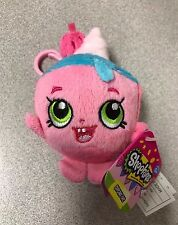 "Brand New 4"" Shopkins Plush Hanger Keychain Backpack Clip US Seller Cupcake Chic"