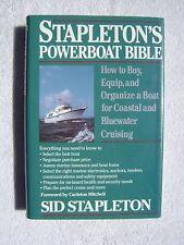 STAPLETONS POWERBOAT BIBLE BOOK MARITIME NAUTICAL MARINE (#132)