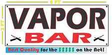 VAPOR BAR Full Color Banner Sign Smoke Shop Vapors