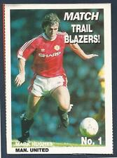 MATCH MAGAZINE-TRAIL BLAZERS- #01-MANCHESTER UNITED & WALES-MARK HUGHES