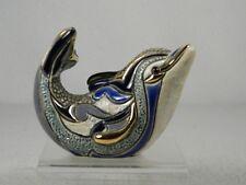 DeRosa Rinconada Family Collection 'Baby Swimming Dolphin' NEW  #F301  RET. NIB