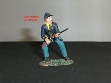 BRITAINS 31064 AMERICAN UNION CAVALRY TROOPER ADVANCING METAL TOY SOLDIER FIGURE