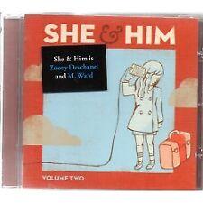 She & Him - Vol.2 (Jewel Case) - CD - Neu / OVP
