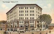 Malone New York The Flanagan Street View Antique Postcard K34231