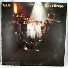 ABBA SUPER TROUPER VINYL RECORD 1980 RELEASE ATLANTIC VG+ WORDS TO SONGS