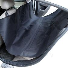 Oxford Heavy Duty Waterproof Pet Dog Car Hammock Back Seat Cover Mat Black
