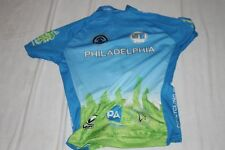 VERGE SPORT Raleigh Cycling Jersey Women's Large back Full Zip PRISTINE!