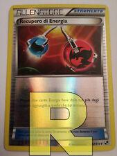 Recupero Di Energia ® Nero Bianco 92/114 ® Reverse Holo Foil ® Pokemon Italiano