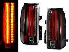 Set of Pair Escalade Style Black LED Taillights for 2015-2019 Yukon / XL /Denali
