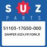 51103-17G50-000 Suzuki Damper assy,fr fork,r 5110317G50000, New Genuine OEM Part