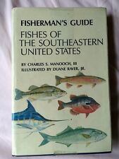 Fisherman's Guide Fishes Of The Southeastern United States Manooch 1988 edition