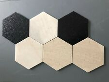 Marble Large 200mm x 200mm Hexagon Floor / Wall Tiles Only $135.00 m2
