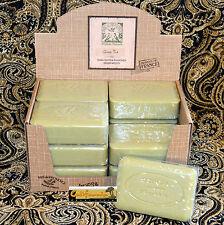 Pre de Provence French Soap GREEN TEA Fragrance Case of 12 x 250 Gram Bath Bars