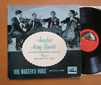 ALP 1125 ED1 Mozart Quintet in C K515 Amadeus String Quartet EXCELLENT HMV Mono