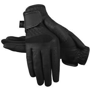 Equestrian Horse Riding Gloves LADIES Synthetic Leather Sereno