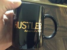 "Hustler magazine ""Americas best"" advertisement coffee mug."