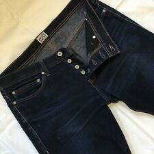 Naked And Famous Size 36 Indigo Denim Jeans