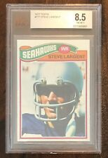 🔥1977 Topps Steve Largent Rookie Rc Card Beckett Grade 8.5 Seattle Seahawks 🔥