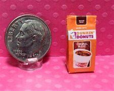 Dollhouse Miniature Bag of Coffee - Popular Brand 1:12