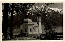 Seefeld Österreich Tirol AK ~1940 Reitherspitze Alpen Kapelle Berge Seekirchlein