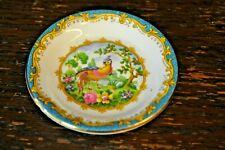 Royal Albert CHELSEA BIRD In Blue Small Spice Dish, Sauce Plate - 10cm Diametre