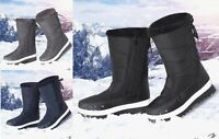 LADIES WOMENS SNOW BOOTS SKI THERMAL MOON FUR WINTER WARM BOOT SHOES SIZE NEW