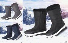 Señoras Mujeres Botas De Nieve Ski Impermeable Térmica Nuevos Zapatos De Piel Luna Botas De Invierno