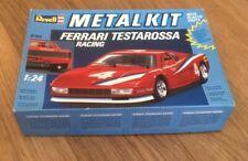 Revell 1/24 Scale 8704 Metal Kit - Ferrari Testarossa Racing Model Car - Made