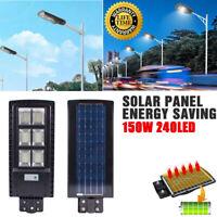 Outdoor LED Solar Street Yard Lights Radar Induction Garden Hotel Wall Lamp IP67