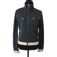 Authentic CHANEL Vintage CC Sports Line Long Sleeve Jacket Gray #36 AK29640
