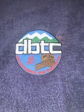 New listing Dbtc Denver 19th annual front Range century Iron On Patch cycling bicycle