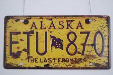 License Plate Metal Signs Retro Tin Poster Bar Pub Home Garage Decor