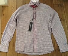 New Mens Guide London Burgundy long sleeve shirt Size S £19.99 or best offer