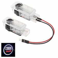 2x LED Benvenuto Proiettore Logo Ghost shadow CAR DOOR LIGHT sotto Lamp For AUDI